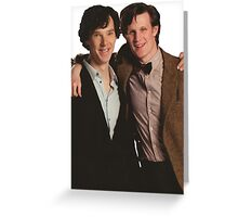 Sherlock and Eleven Greeting Card