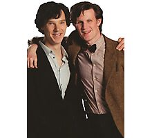 Sherlock and Eleven Photographic Print