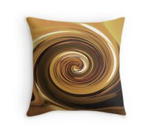 010212 196 1 water color  @ma  france creperie twirl Throw Pillow