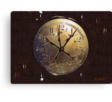 The Crucifixion of Time Canvas Print