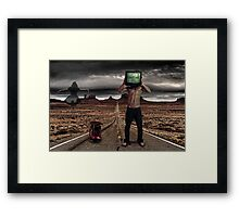 Essence Of Lost Framed Print