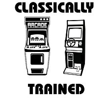 Classically Trained - Featuring Retro Arcade Machines by GamerRexDesigns