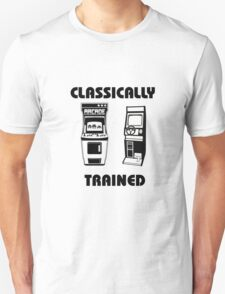 Classically Trained - Featuring Retro Arcade Machines T-Shirt