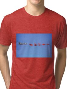 Vulcan and Red Arrows Tri-blend T-Shirt