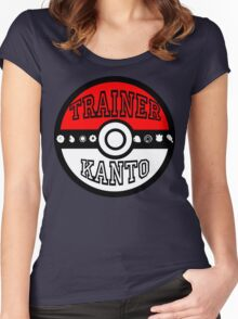 Kanto Trainer Women's Fitted Scoop T-Shirt