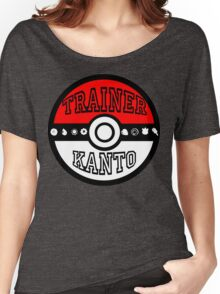Kanto Trainer Women's Relaxed Fit T-Shirt