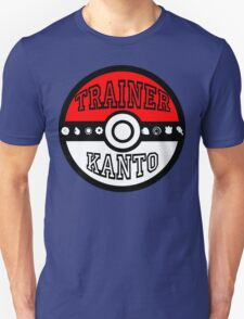 Kanto Trainer T-Shirt