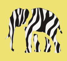 Elephant Zebra: Wild Mash Up Kids Clothes