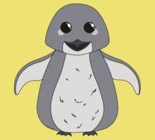Kawaii Penguin Kids Tee