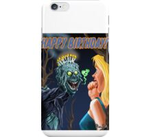 HAPPY HORRIBLE BIRTHDAY iPhone Case/Skin