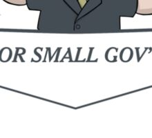 For Small Government Sticker