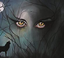 Through Wolf Eyes by Linda Woodward