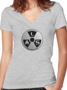 Logic Analog Sound Women's Fitted V-Neck T-Shirt