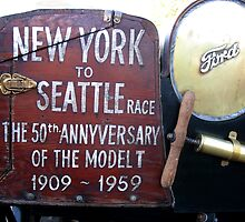 New York to Seattle. Model T anniversary 1909-1959 by htrdesigns