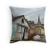 Eastside Alley Throw Pillow