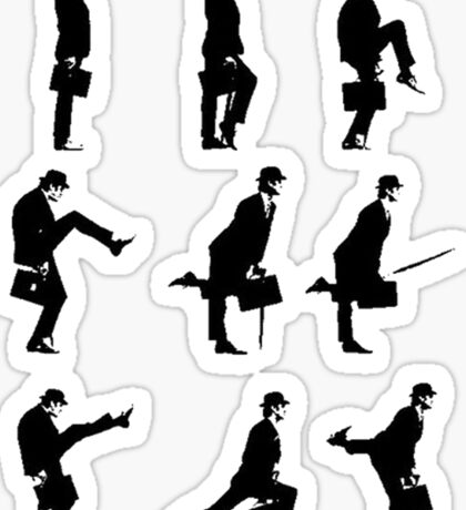 Ministry of Silly Walks Sticker
