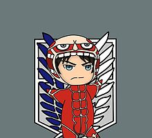 Eren Jäger - Attack on Titan chibi by rainbowcho