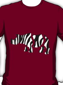 rhino zebra: Wild Mash-Up T-Shirt