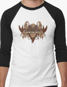 Pewter City Men's Baseball ¾ T-Shirt