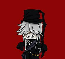 Undertaker- Black Butler chibi by rainbowcho