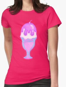Sparkly Sundae Womens Fitted T-Shirt