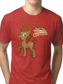 My Little Christmas Reindeer Tri-blend T-Shirt