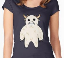 ADORABLE YETI Women's Fitted Scoop T-Shirt