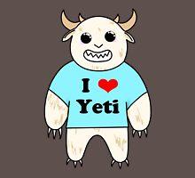 I love Yeti Unisex T-Shirt
