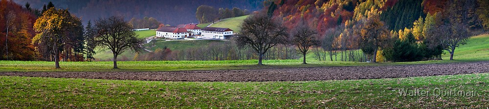 Countryside Fall by Walter Quirtmair