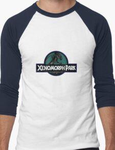 Xenomorph Park Men's Baseball ¾ T-Shirt