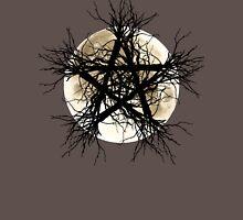 Pentagram and Moon Unisex T-Shirt