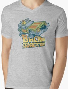 Back to the Vacation! Mens V-Neck T-Shirt
