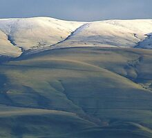 Snow Caped Hills by Randy Richards