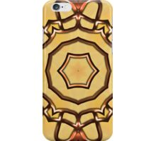 3d abstract pattern in the shape of flowers iPhone Case/Skin