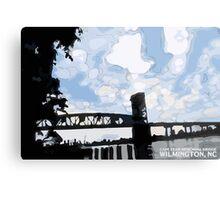 Cape Fear Memorial Bridge Metal Print