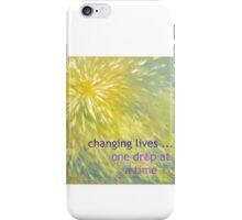 Burst into Green  iPhone Case/Skin