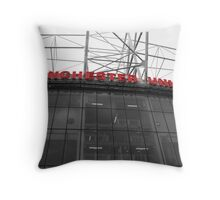 Old Trafford, The theatre of dreams. Throw Pillow