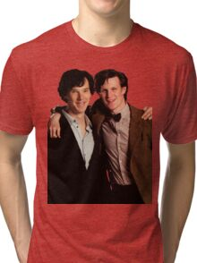 Sherlock and Eleven Tri-blend T-Shirt