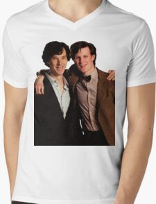Sherlock and Eleven Mens V-Neck T-Shirt