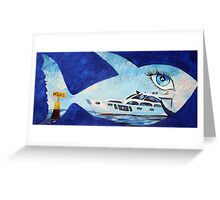The Big Fish  Greeting Card