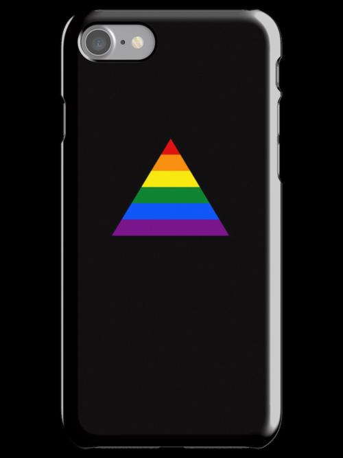 Pride Triangle on Black by x-pressions