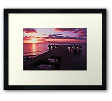 End of an Era Day Framed Print