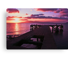 End of an Era Day Canvas Print
