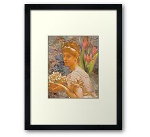 An Offering Framed Print