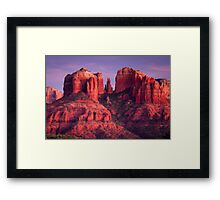 Cathdral Rock of Sedona, Arizona Framed Print