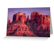 Cathdral Rock of Sedona, Arizona Greeting Card