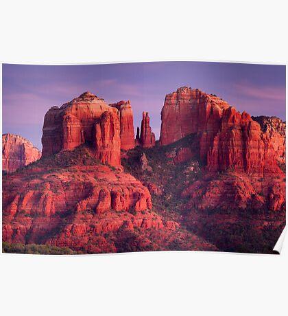 Cathdral Rock of Sedona, Arizona Poster