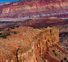 Sunset Point, Capitol Reef National Park by cavaroc
