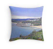 bilgola beach Throw Pillow