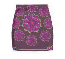 Moroccan Moonflower - Purple Mini Skirt